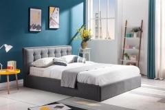 Новинка!Кровать Halmar PADVA 160 серый