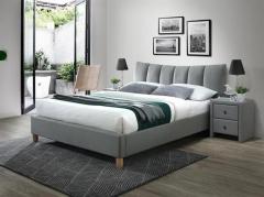 Новинка!Кровать Halmar SANDY 2 160 серый