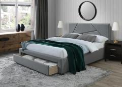 Новинка!Кровать Halmar VALERY 160 серый орех