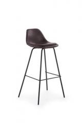 Новинка!Барный стул Halmar H-90 темно-коричневый черный