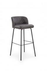 Новинка!Барный стул Halmar H-92 темно-серый черный