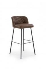 Новинка!Барный стул Halmar H-92 темно-коричневый черный