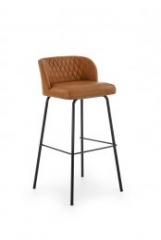 Новинка!Барный стул Halmar H-92 светло-коричневый черный