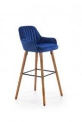Новинка!Барный стул Halmar H-93 темно-синий opex