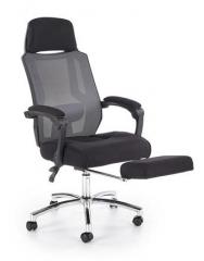 Новинка!Кресло офисное Halmar FREEMAN черный серый