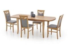 Деревянный стол Halmar Fryderyk 160-200 дуб крафт