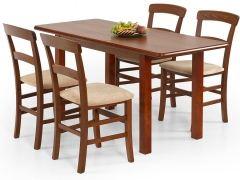 Cтол DINNER 120/158 HALMAR – раздвижной деревянный