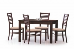 Деревянный стол Halmar Ernest 120-160 орех тёмный